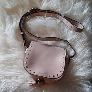 Victoria's Secret rose studded crossbody bag NEW!